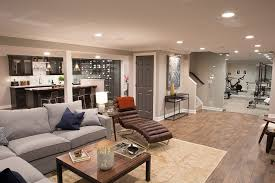 new renovated basement